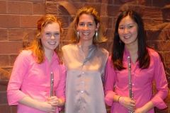 With Melissa and Mimi, 2005
