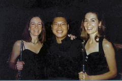 Mary Posses, Benny Kim, and Susan, 2001
